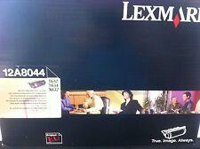 original LEXMARK 12A8044 Toner T632 T634 X632 Schwarz 12A7462 12A7465 neu B