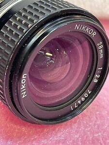 NIKON NIKKOR 28mm 1:2.8  LENS  #29  F Mount