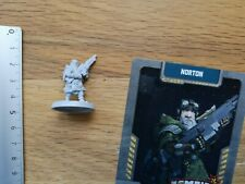 ENG CARD//  ZOMBICIDE INVADER G344 FRANK MINIATURE