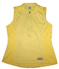 Patagonia 1 2 Zip Sleeveless Yellow Bike Jersey e91474b87