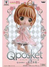 Banpresto Prize Cardcaptor Sakura Clear Card Q Posket Figure Sakura Kinomoto B