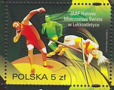 POLAND 2014 **MNH SC# ( ) IAAF World Indoor Championships