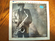 "STANLEY TURRENTINE ""STRAIGHT AHEAD"" 1985 BLUE NOTE JAZZ GEORGE BENSON DMM MINT"