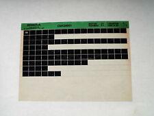 Honda CMX250_1995 Microfilm Microfich Teilekatalog Ersatzteil Fiche Parts List