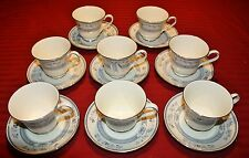 Minton Penrose Lot of 8 Cup & Saucer Sets