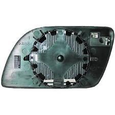 Vidrio Espejo espejo retrovisor derecho VW POLO 9N 01-05 convexo