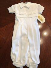 Boys Christening Baby Infant Christening Romper 6 M