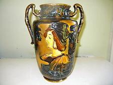 Forester Art Nouveau Lusterware Vase by A. Dean, 'Dante'  Excellent & Gorgeous!