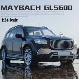 1:24 For Mercedes-Benz Maybach GLS600 Diecast Alloy Toy Model Car Toy For Kids