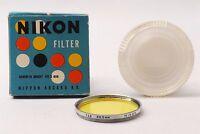 @ Original Box & Nippon Kogaku Tokyo Case @ Nikon Japan Y48 40.5mm Lens Filter