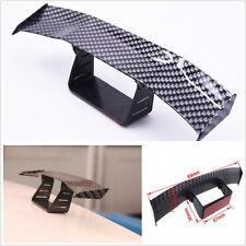 JDM Racing Style Mini Carbon Fibre Look Car SUV Empennage Tail Spoiler Wing Trim