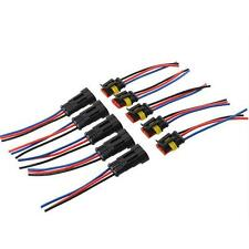 5x Auto Waterproof Automotive Wire Connector Plug 3 Pins Electrical Car Connecto