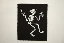 """Social Distortion Cloth Patch Sew On Badge  Adicts Punk Rock  5""""X4"""" (CP84)"""