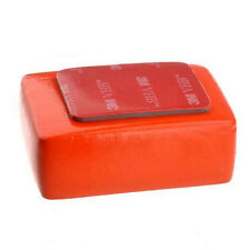 Orange Float Floaty Sponge Foam + 3M Adhesive Sticker For Gopro Hero 2 3 3+ 4