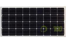 Pannello Solare Fotovoltaico 100W 12V Mono Camper Barca impianto Baita