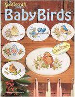 BABY BIRDS  CROSS STITCH LEAFLET