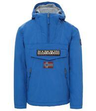 Cappotti e giacche da uomo blu Napapijri taglia L  2659974e4ba