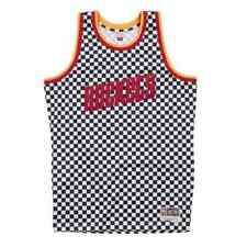 Houston Rockets Checkered Swingman Jersey 2XL Mitchell & Ness Hardwood Classics