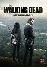 THE WALKING DEAD DVD TEMPORADA 6 SEXTA 6ª NUEVO ( SIN ABRIR )