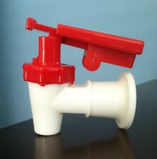Sunbeam Water Cooler Faucet /VALVE RED W/Child Safety TOMLINSON HANDLE  HQ