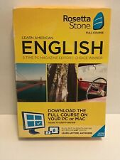 Rosetta Stone American English Full Course 24 Month Subscription w/ Download