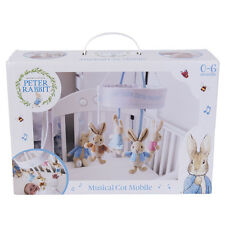 Beatrix Potter Peter Rabbit Musical Cot Mobile 0-6 Months NEW