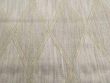 Schumacher Architectural Diamond Upholstery Fabric Design 501 Ivory 2.6 yd 72190