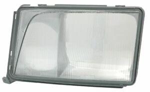 MERCEDES BENZ E CLASS W124 LAMP GLASS HEADLIGHT LEFT SIDE FRONT NEW 1248203357