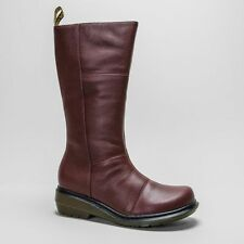 Dr. Martens Zip Casual 100% Leather Boots for Women