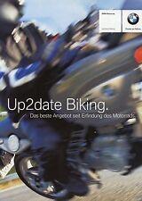 BMW Motorrad Prospekt 3 04 2004  Up2date Biking F650GS R1150RT Finanzierung