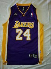 NWT Kobe Bryant Lakers Jersey Adidas Youth M (10-12) Length+2 #24 Sewn RARE NEW