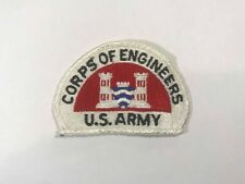 Vintage US Army Corps of Engineers Sew Embroidered Patch
