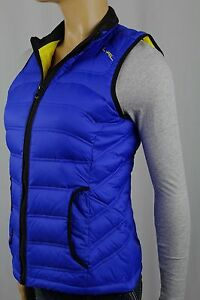 Ralph Lauren Active Royal Blue Down Puffer Vest NWT $179