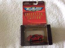 1998 Micro Machines 1997 Corvette red   Series 1  1/87 1 of 20,000