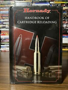 Hornady Handbook of Cartridge Reloading 9th Edition Hardcover NEW