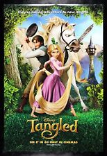 TANGLED * CineMasterpieces DISNEY RAPUNZEL LONG BLONDE HAIR DS MOVIE POSTER 2010