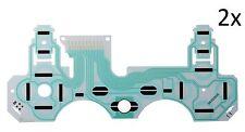 2x - PS3 Controller Flex Platine Tastenfolie Leiterbahn für DualShock 3 SA1Q160A