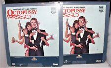 JAMES BOND 007 OCTOPUSSY CED VIDEO LASER DISC 2 DISC SET PART 1 & 2 GREAT MOVIE