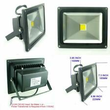 30W Watt Warm White 12V 24V Ac Dc Ultra Bright Led Security Wash Flood Light
