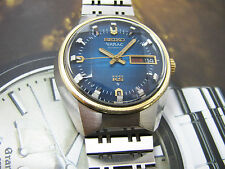 Rare King Seiko KS 5626-7190 Vanac Blue Dial Automatic VG 100% original.