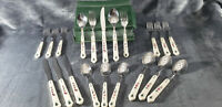 PFALTZGRAFF SNOW VILLAGE STAINLESS FLATWARE SILVERWARE~UTENSILS~XMAS (NEW 20 PC