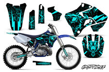 Yamaha YZ125 YZ250 Dirt Bike Graphic Sticker Kit Decal Wrap MX 96-01 NIGHTWOLF M