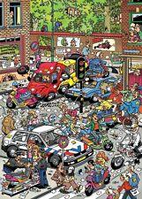 NEW! Jumbo Games Traffic Chaos Jan van Haasteren 500 piece comic jigsaw puzzle