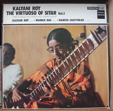 KALYANI ROY THE VIRTUOSO OF SITAR VOL.1 JAPAN PRESS  LP DISQUES DENON