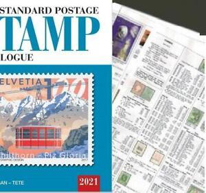 Spain 2021 Scott Catalogue Pages 452-571