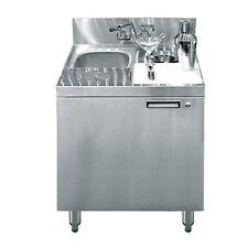 "Krowne Metal Kr18-Ms24 24"" Royal1800 Series Underbar Mixology / Sink Unit"