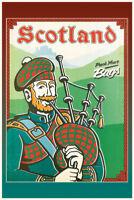 Scotland Schottland Pack your Bags Blechschild Schild Tin Sign 20 x 30 cm