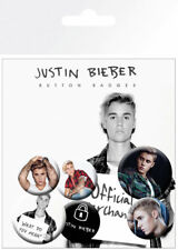 Button Badge 6er Pack JUSTIN BIEBER - Mix 2 What Do You Mean 2x32mm & 4x25mm 665