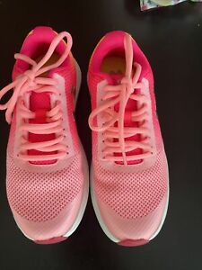 Under Armour Girls GPS Surge RN Prism Pink Running Shoes Sneakers 3.5Y 3022691