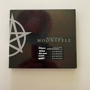 Moonspell – Memorial CD Tiamat Paradise Lost Therion Amorphis The Gathering